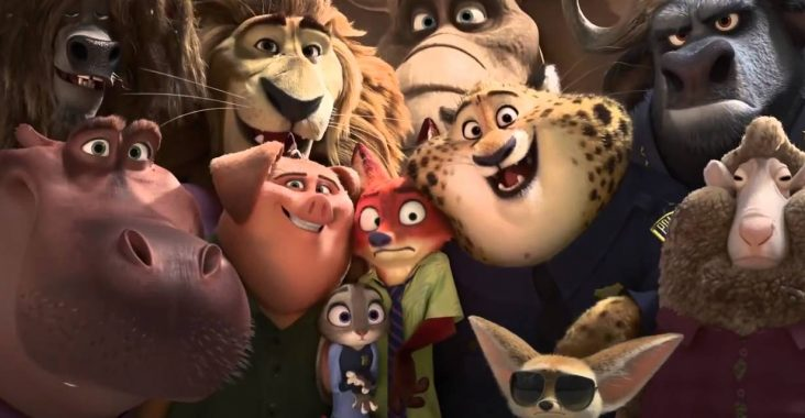 Zootopia, Nominee for Best Animated Feature