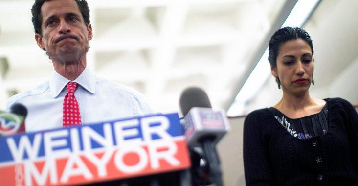 Anthony Weiner and Huma Abedin