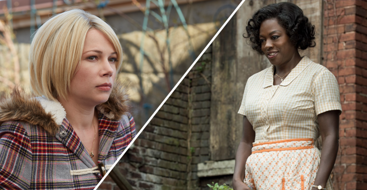 Michelle Williams and Viola Davis are nominated for Best Supporting Actress at the Oscars
