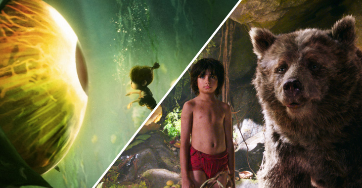 Kubo and the Two Strings and The Jungle Book are nominated for Best Visual Effects at the Oscars