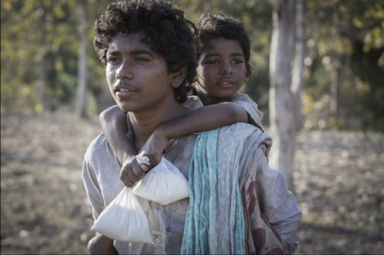 Abhishek Bharate and Sunny Pawar in Lion