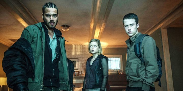 Daniel Zovatto, Jane Levy and Dylan Minnette in Dont Breathe
