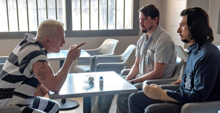 Daniel Craig, Channing Tatum, and Adam Driver in Logan Lucky